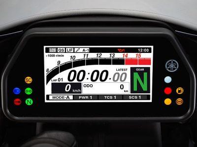 YZF-R1 LCD