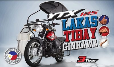 YTX125 Tricycle