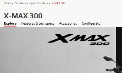 XMAX 300 ヨーロッパ