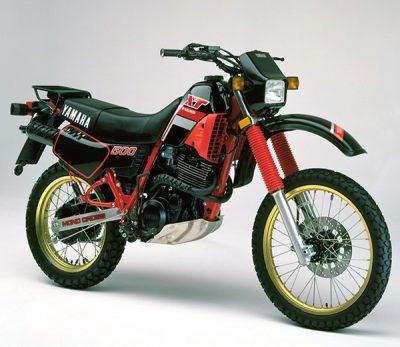 XT500 55A 1986 B