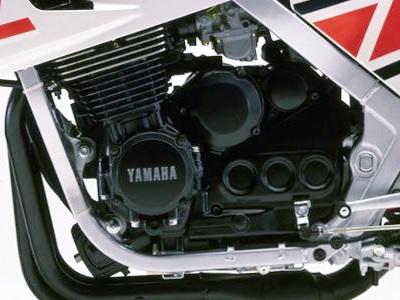 FZ600 2AX 1986 Engine
