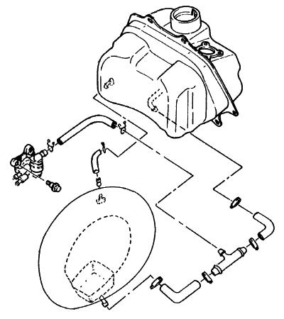 CY90 4CX1 燃料タンク